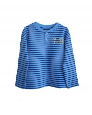 T-shirt blauw NOTE