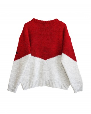 Sweater red PINS RED
