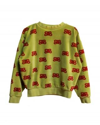 CIL RED Samt Sweatshirt
