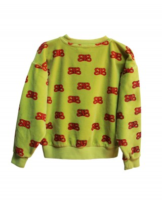 Sweatshirt samt CIL rot