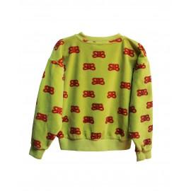 Sweatshirt fluweel CIL RED