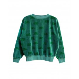 Sweat velvet green CIL
