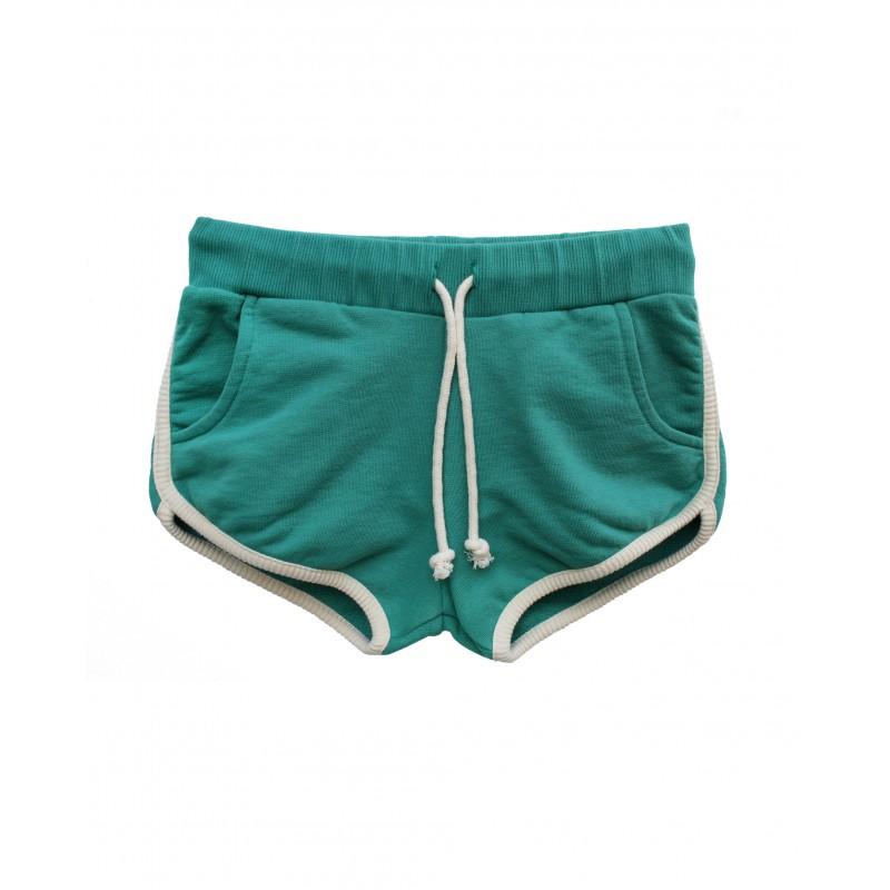 green shorts DENI