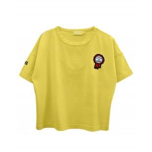 T-shirt gialla TORN