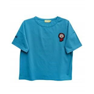 Blaues T-Shirt FLISS